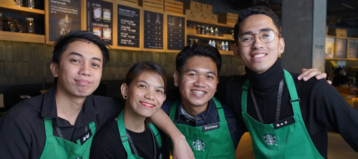 Starbucks and HOUSE Foundation partnership fosters bigger dreamers