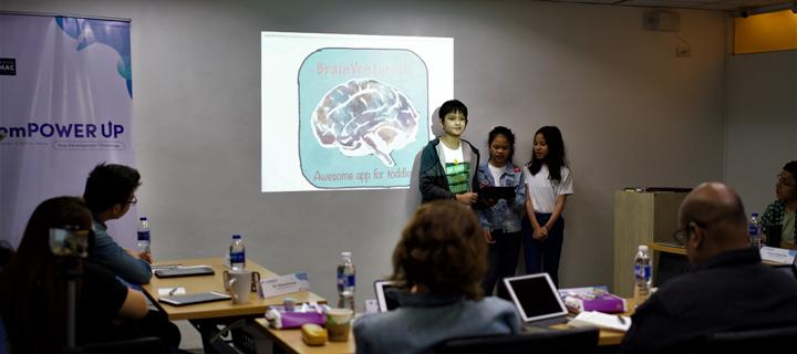 Grade school students, big winner in Power Mac Center app contest