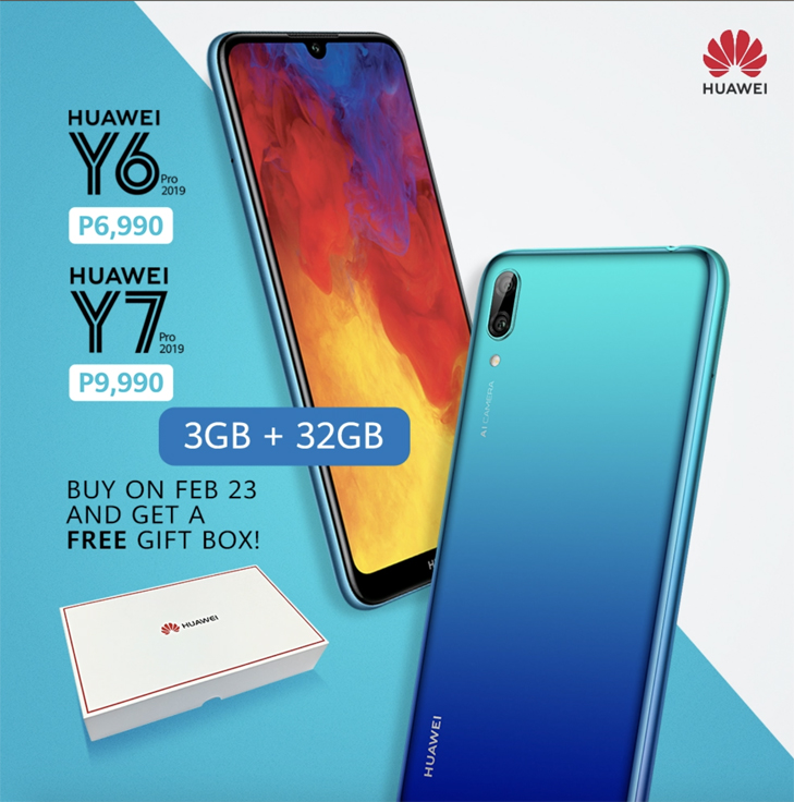 Get a free gift when you purchase the new Y6 pro and Y7 pro