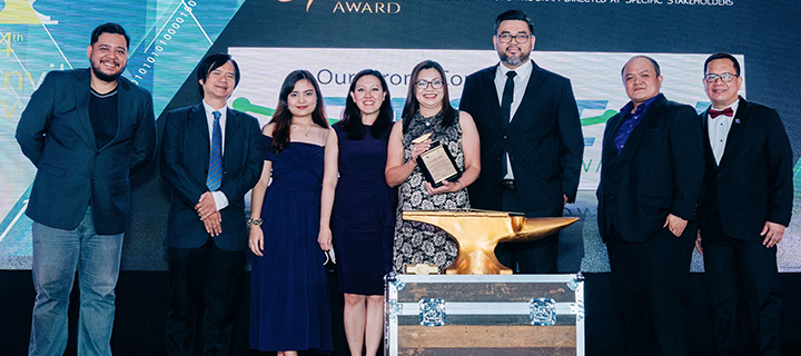 Eastern Communications wins a Gold Anvil for 'Our Strong Connection' Rebranding Campaign