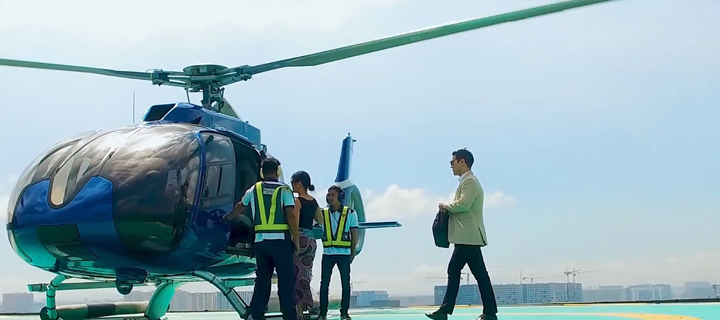 Book a helicopter ride with Ascent Flights
