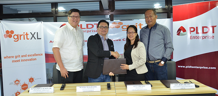 PLDT Enterprise partners with Grit XL to transform Morong Rizal into an ICT and BPO hub