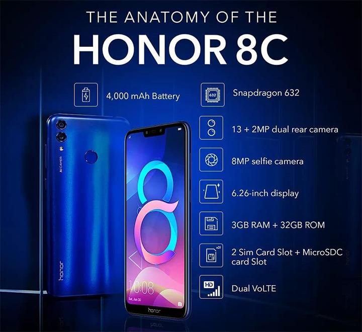 Honor-8c-specs – SwirlingOverCoffee
