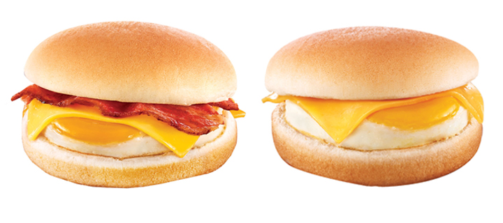 Bring more joy to your mornings with Jollibee's new on-the-go breakfast sandwiches