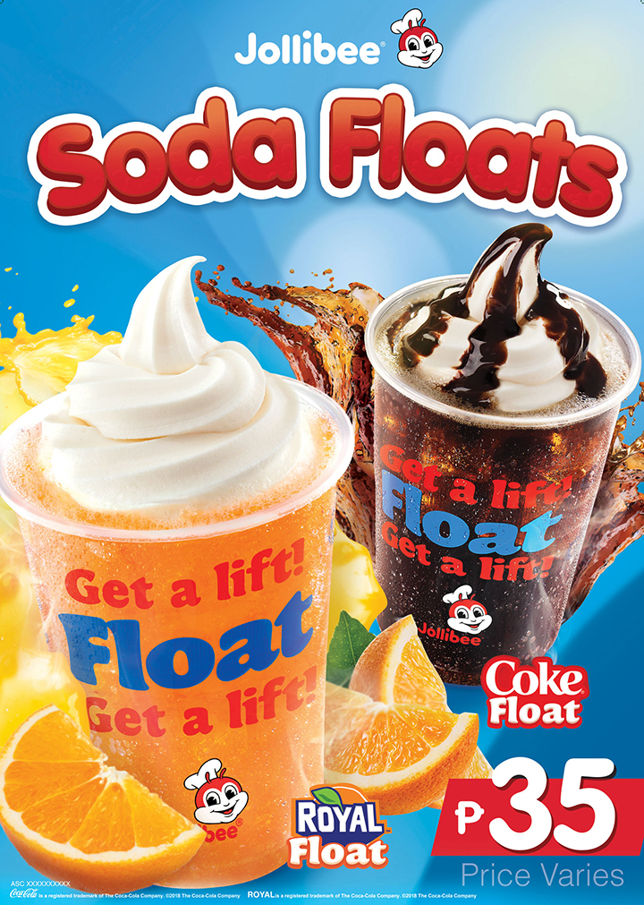 Stay cool for the summer with Jollibee's Coke and Royal