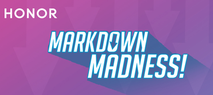 HONOR slashes off up to PHP 2,000 on their smartphones for March Markdown Madness!
