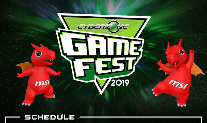 MSI Gaming Philippines joins Cyberzone Game Fest 2019!