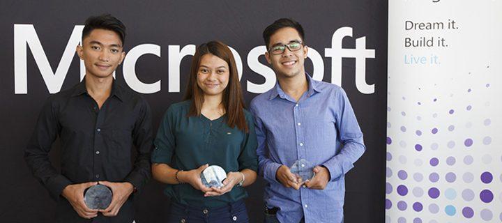 USC students bag bronze at int'l Microsoft tilt