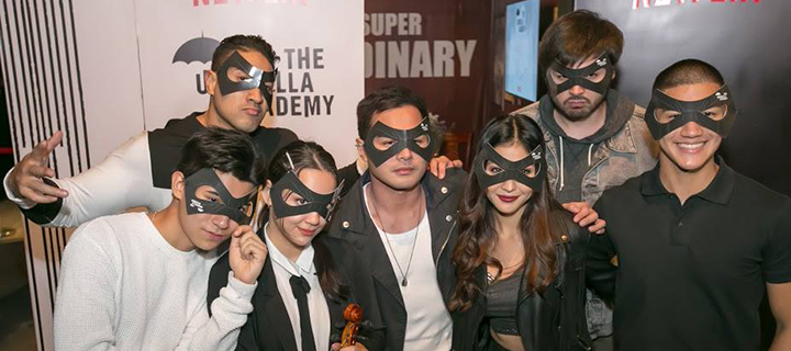 "PLDT, Smart superpower ""The Umbrella Academy"" launch with Netflix"