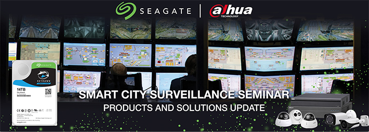 Seagate and Dahua Teamed-Up for Smart and Safer Cities