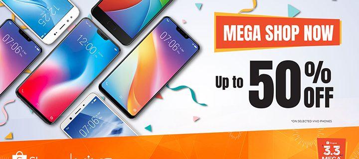 Vivo offers mega discounts at Shopee's Mega Shopping Day Sale