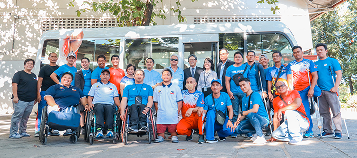 Toyota Motor Philippines helps Para Althletes bring honor to the country