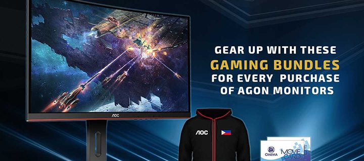 Experience AOC Gaming in SM Cyberzone