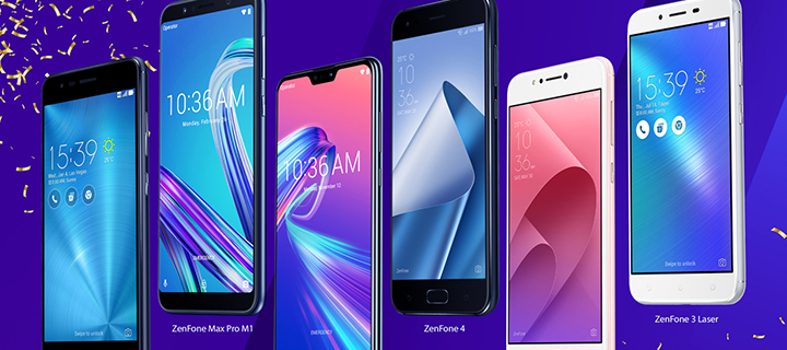 Asus celebrates the Lazada 3.3 Birthday Sale on March 27 with limited-time price drops on Zenfone and Zenpower favorites!