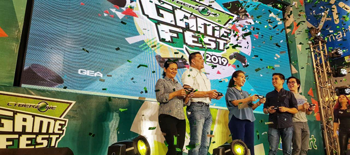 PLDT, Smart back Filipino gamers at the launch of SM Cyberzone Game Fest 2019