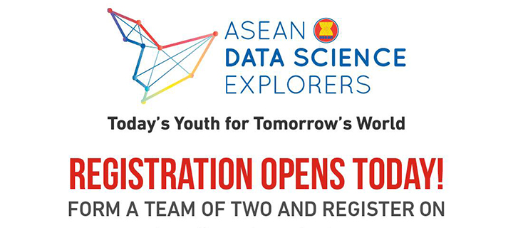 Call for Applications Open for the 3rd Annual ASEAN Data Science Explorers