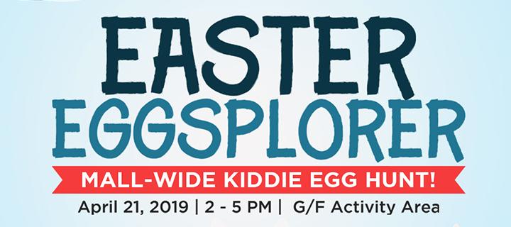 Become Easter Eggsplorers at Commercenter Alabang