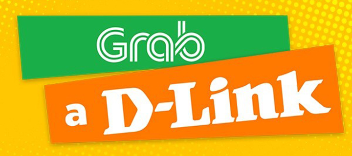 D-Link partners with Grab for free ride promo