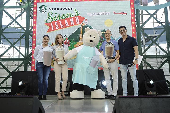 Indulge in Starbucks Summer Getaway