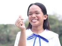 Young spoken word artist receives education package from PLDT Gabay Guro, Free Bee