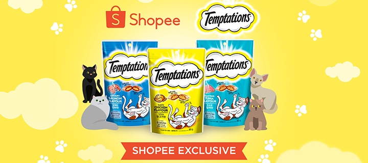 Shopee and Mars Petcare launch Temptations cat treats in the Philippines