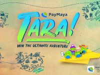 Join PayMaya Tara! Raffle Promo for a chance to win an all-expense trip with 3 of your friends