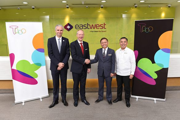 EastWest Bank and Ageas celebrate the 4th anniversary of their joint venture in the Philippines.
