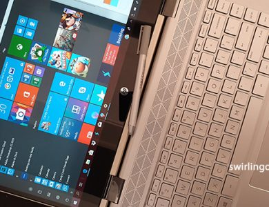 Core i7 HP Pavilion x360 combines a flipback touchscreen and comes-with stylus for creative work