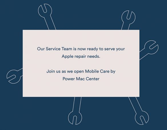 Come to the opening of Power Mac Center's first Mobile Care Service Center at The Podium Ortigas Center on May 31. Customers present have a chance to win exciting deals.