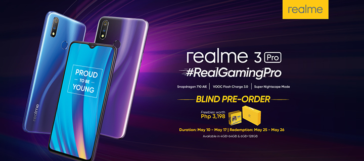 #RealGamingPro: Realme 3 Pro available for Blind Pre-order in Concept Kiosks starting May 10