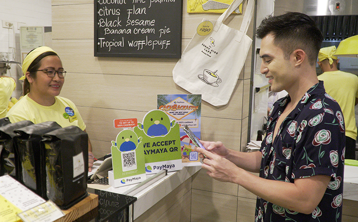 PayMaya expands Boracay's first 'cashless' ecosystem with QR payments