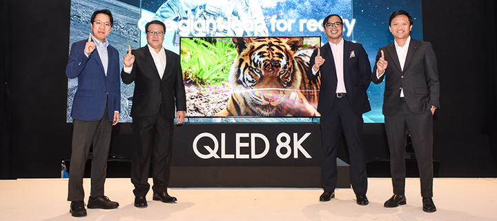 Samsung unveils first real QLED 8K TV in the Philippines
