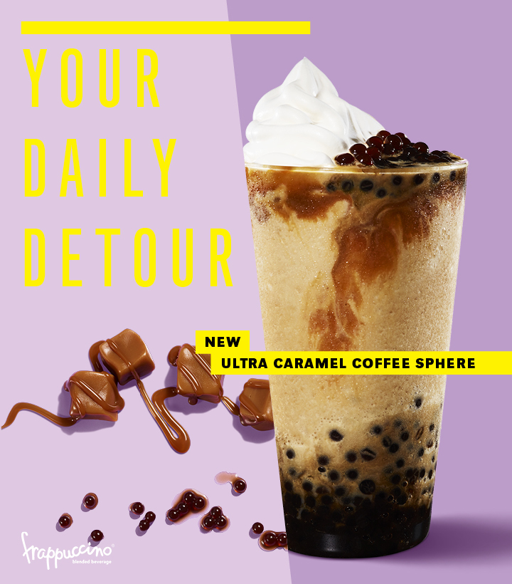 Starbucks Ultra Caramel Coffee Sphere