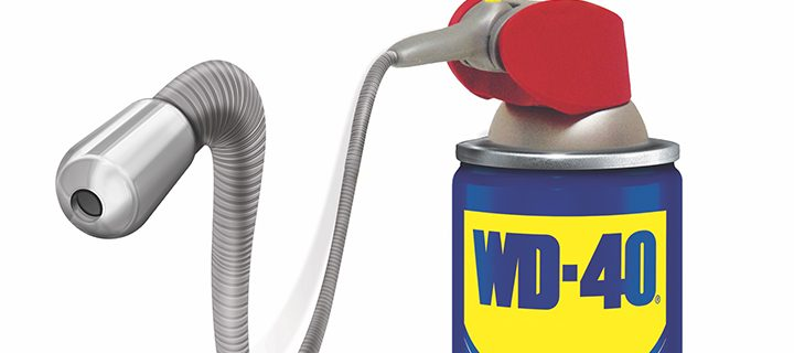 Reach into Tight Spaces with the WD40 EZ