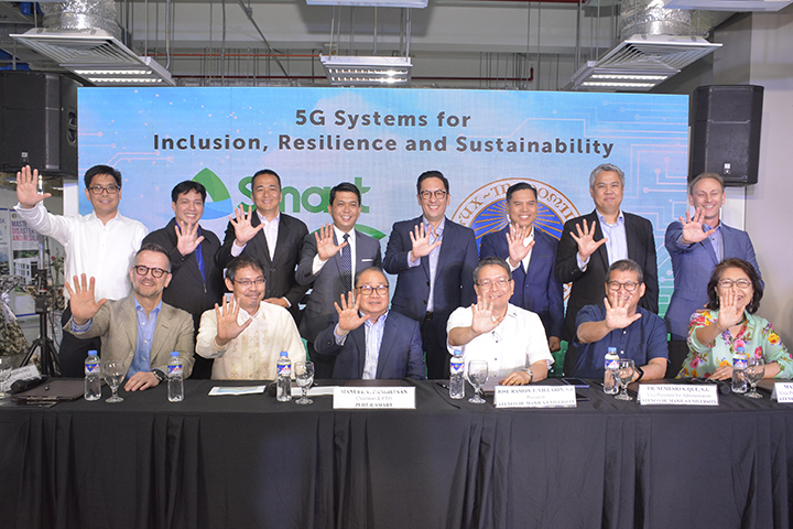 PLDT, Smart fires up Ateneo as PH's first 'Smart 5G campus'