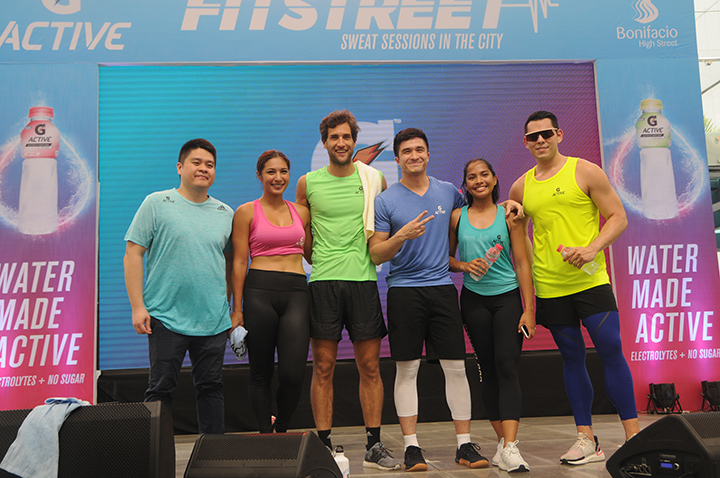 Get on the road to fitness at BGC's Fitstreet 2019 with G Active