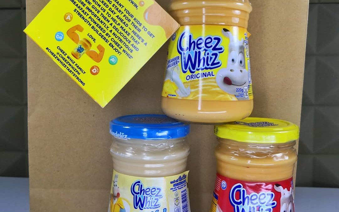 Bring your kids to the Cheez Whiz Strength Builders Camp at SM Megamall
