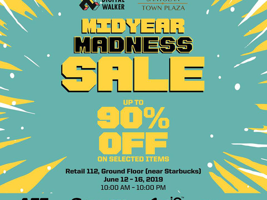 Get up to 90% off at Digital Walker's Midyear Madness Sale