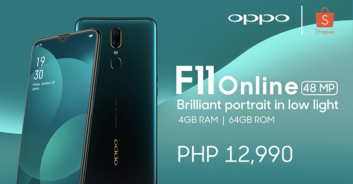 Grab the new OPPO F11 Online Exclusive Now!