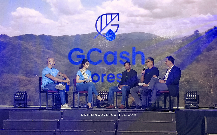 Through GCash Forest, GCash users can plant virtual trees with real real-life counterparts
