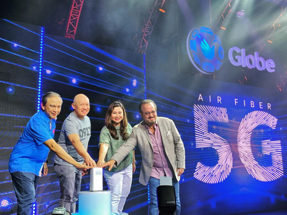 Globe makes PH the 1st country to experience commercial 5G fixed wireless internet in SEA
