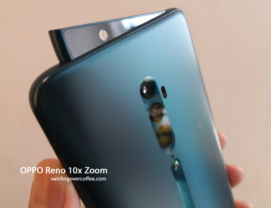 OPPO Reno 10x Zoom with pop-up selfie camera