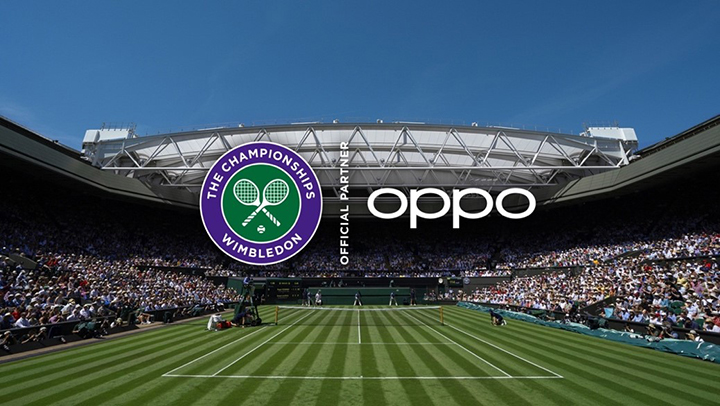 OPPO named official smartphone partner of the Championship, Wimbledon