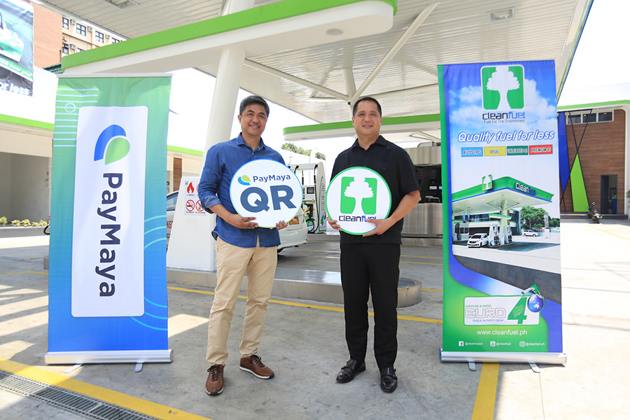 Cleanfuel gas stations now accept payments via PayMaya QR