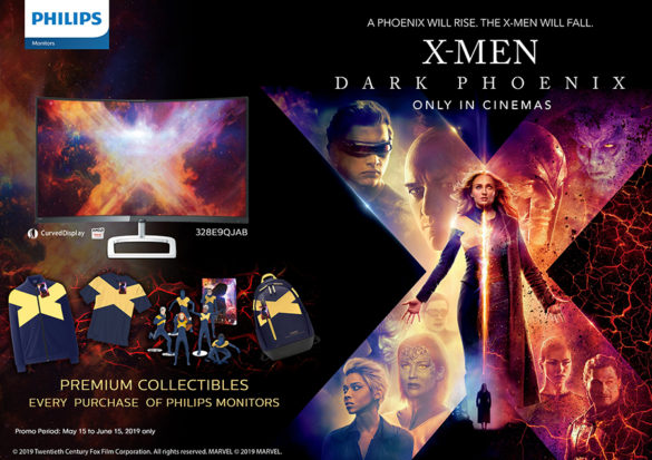 Philips, a global leader in innovative displays, partners with Twentieth Century Fox to promote the release of X-Men: Dark Phoenix in the Philippines.