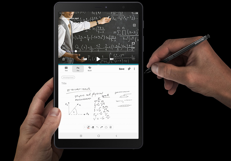 Samsung Galaxy Tab A with S Pen