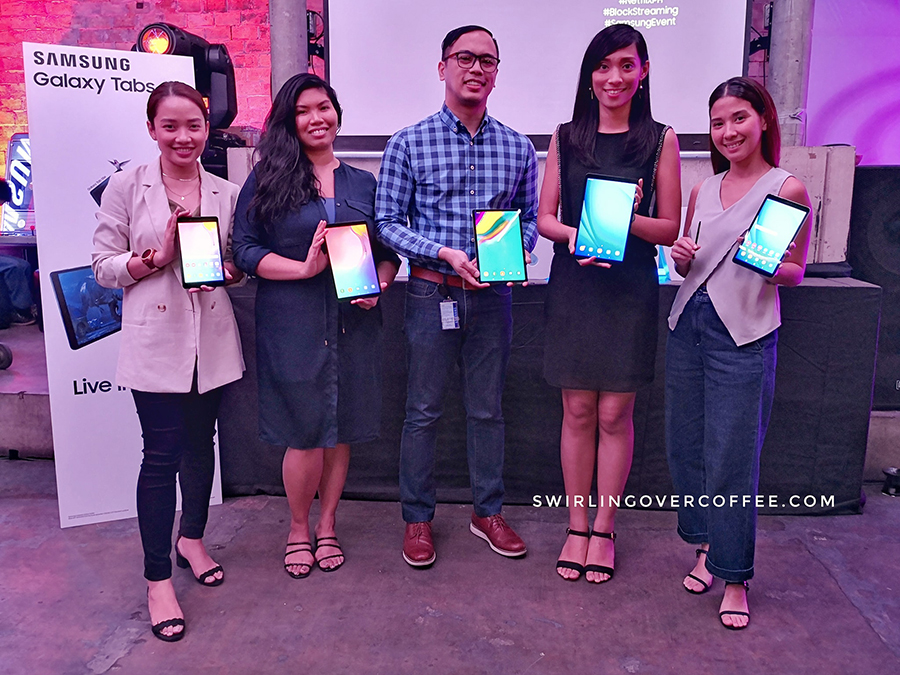 Samsung has launched 3 tablets for your video binging and productivity needs. The Samsung Galaxy Tab A with S Pen (8-inch screen, P15,990), the Galaxy Tab A 10.1 (10-inch screen, Dolby 3D Sound, P16,990), and Galaxy Tab S5e (10.5-inch Amoled display, side fingerprint sensor, P27,990).