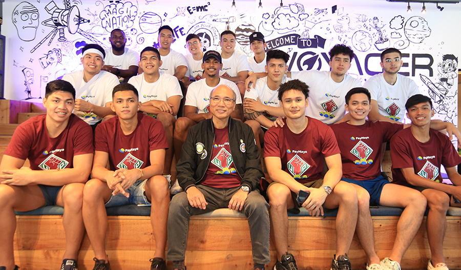 PayMaya supports the UP Men's Basketball Team - the UP Fighting Maroons - for the UAAP's 82nd Season