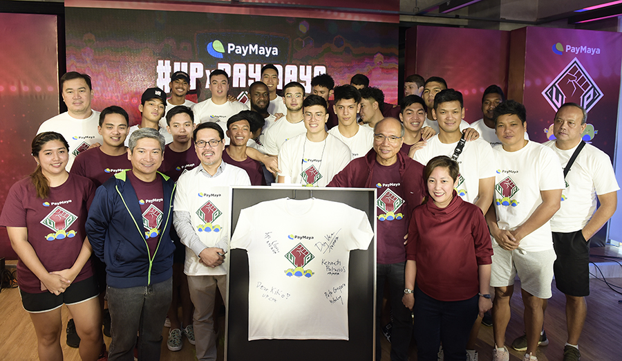 Nowhere to go but UP: PayMaya supports the UP Men's Basketball Team for the UAAP's 82nd Season
