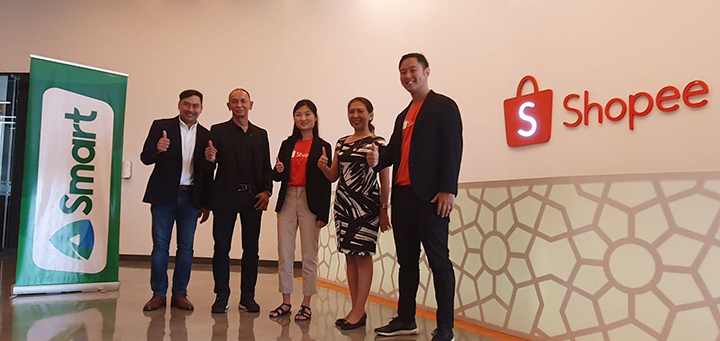 Smart teams up with Shopee for customer convenience
